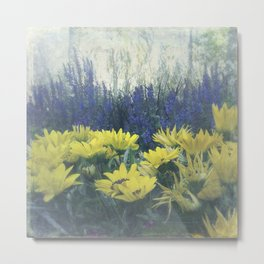Small Summer Garden Metal Print