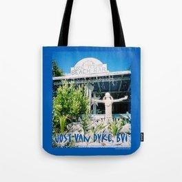 Ivan's on Jost Van Dyke, BVI- World's best honor bar! Tote Bag
