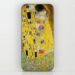The Kiss, Gustav Klimt iPhone Skin