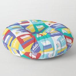 Toothpaste Floor Pillow