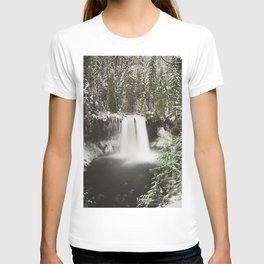 Winter Wanderlust Waterfall T-shirt