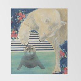 Polar Plunge Throw Blanket