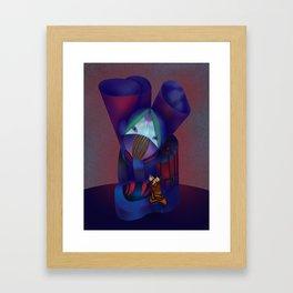Dientes Framed Art Print