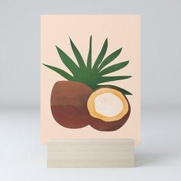 Cocconut Mini Art Print