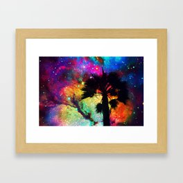 Space Cali Framed Art Print