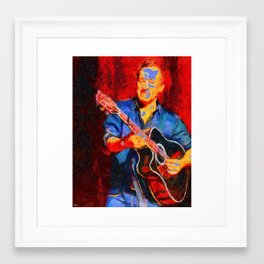 The Guitarist Framed Art Print