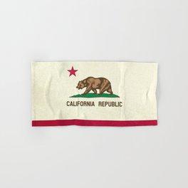 California Republic Flag Hand & Bath Towel