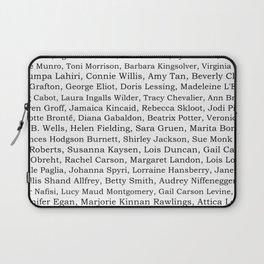 The Ladies of Literature Pattern Laptop Sleeve