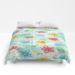 Spring is right here Comforters