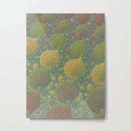 Moss Landing - Fractal Art  Metal Print