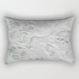 Water beside the Ferry Rectangular Pillow
