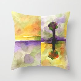 As Above So Below No14 Throw Pillow