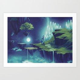Creativity Island Art Print
