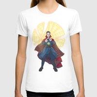 T-shirts featuring Doctor Strange - Sanctum Sanctorum by enerjax