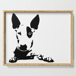 BULL TERRIER GIFTS Serving Tray