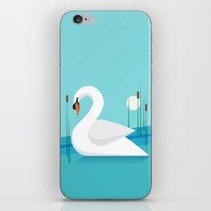 Majestic Swan iPhone & iPod Skin