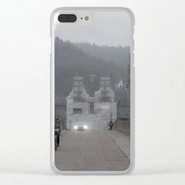 Heidelberg Cyclist Clear iPhone Case