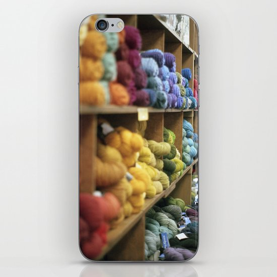 Yarn Barn iPhone & iPod Skin