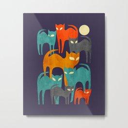 Stray Cats Metal Print