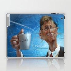 Bill Gates Laptop & iPad Skin