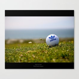 Hole in One. Canvas Print