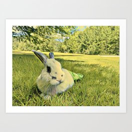 Jack In The Grass Art Print