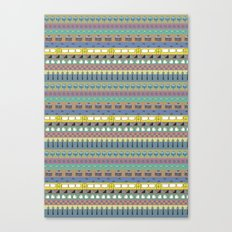 Berlin pattern Canvas Print