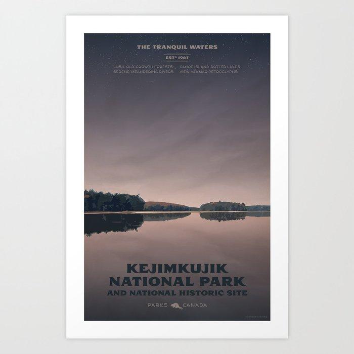 Kejimkujik National Park Art Print