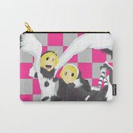 Loki and Noki (BW) Carry-All Pouch