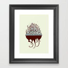 Treecity Framed Art Print