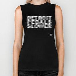 Detroit Pedals Slower Biker Tank