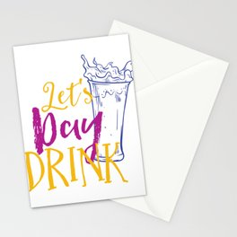 Let's Day Drink Stationery Cards