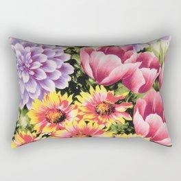 garden glow Rectangular Pillow
