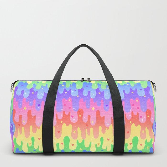 Rainbow Slime Duffle Bag