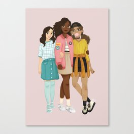 21st Century Schuyler Sisters Canvas Print