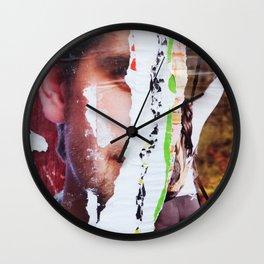 Baker's Half Wall Clock