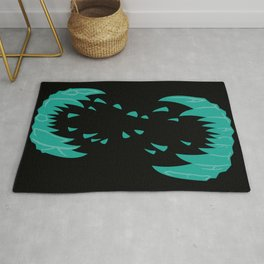 Big Alien Gorilla-Wolf Mother... Rug