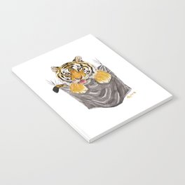 Pocket-Sized Gabrielle Tiger Notebook