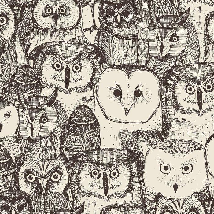 just owls natural Leggings