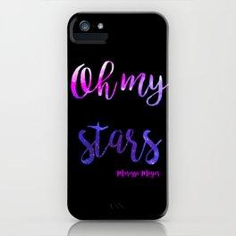 Oh My Stars iPhone Case