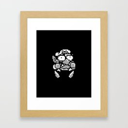 Wario 1 Framed Art Print