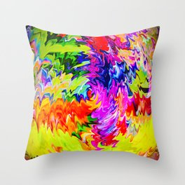 Abstract Perfection 15 Throw Pillow
