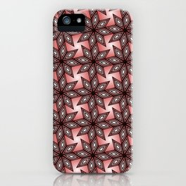 Diamond Blooms iPhone Case