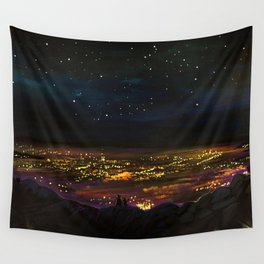 On The Edge Wall Tapestry