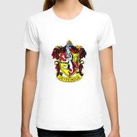 gryffindor T-shirts featuring Gryffindor - Hogwarts  by Kesen