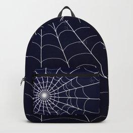 Spiderweb on Midnight Backpack