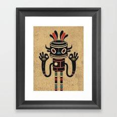 Tribe Gathering Framed Art Print