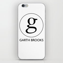 garth brooks logo tour 2019 wh neon iPhone Skin