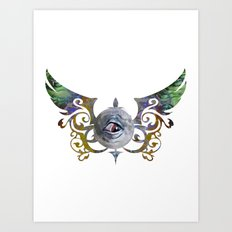 CC EYE Art Print