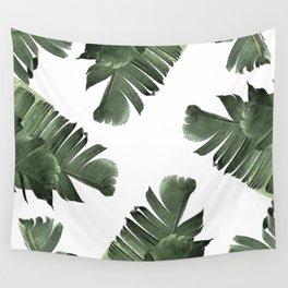Banana Leaf Frenzy #society6 Wall Tapestry